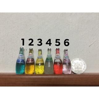 Charm chai nước hoa quả- miniature-phụ kiện búp bê