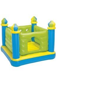Nhà banh nhún lâu đài Intex 48257 (Xanh)