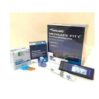 [TRỌN BỘ] Máy đo đường huyết, tiểu đường, Terumo MEDISAFE Fit C, nhập nguyên chiếc từ Nhật Bản, BH 5 năm