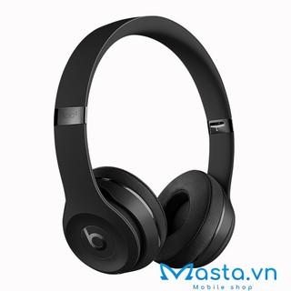 Tai nghe Bluetooth chụp tai Beats Solo 3 new seal chính hãng 100% (Đen)