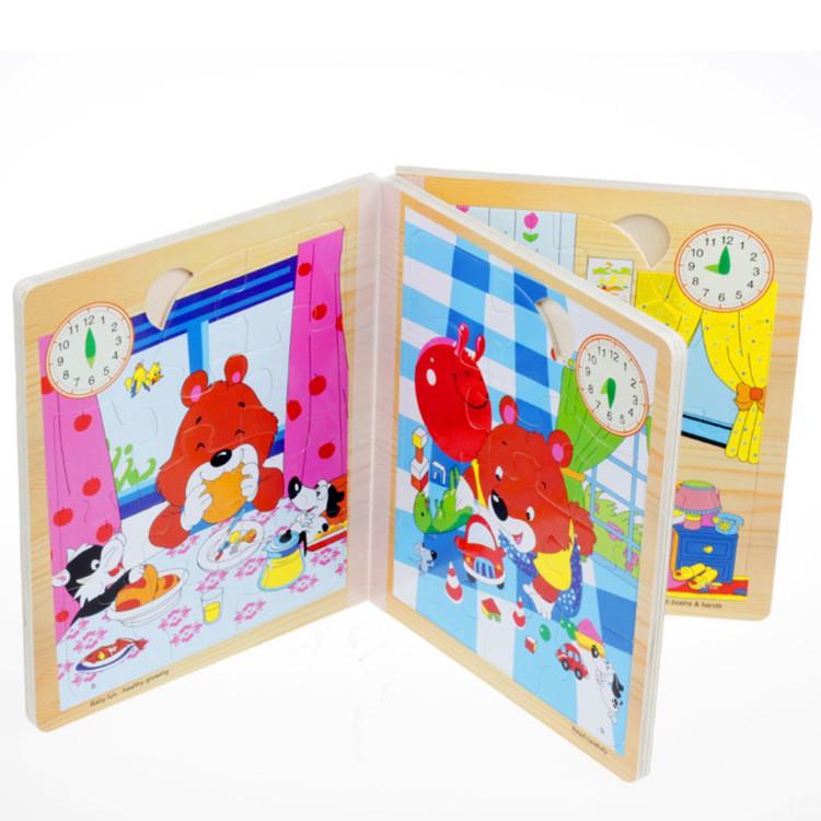 sách 3 chiều bằng gỗ cho bé