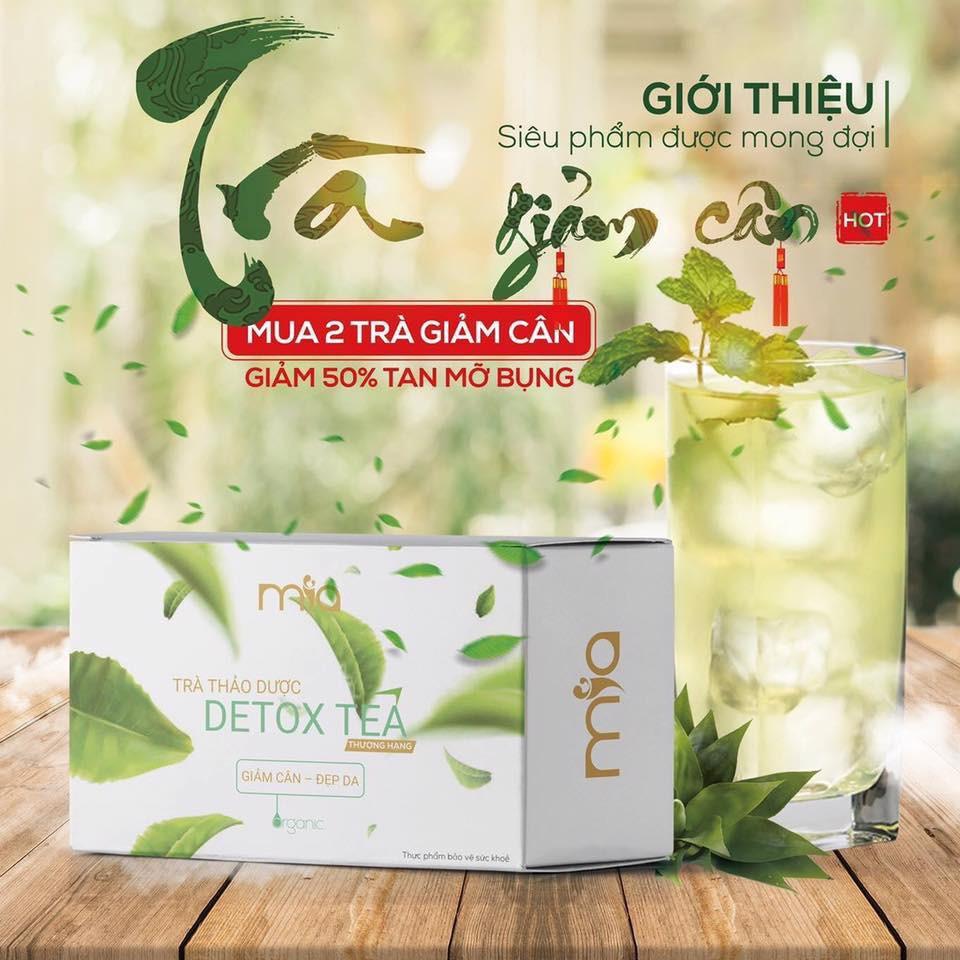 TRÀ GIẢM CÂN DETOX TEA | Shopee Việt Nam