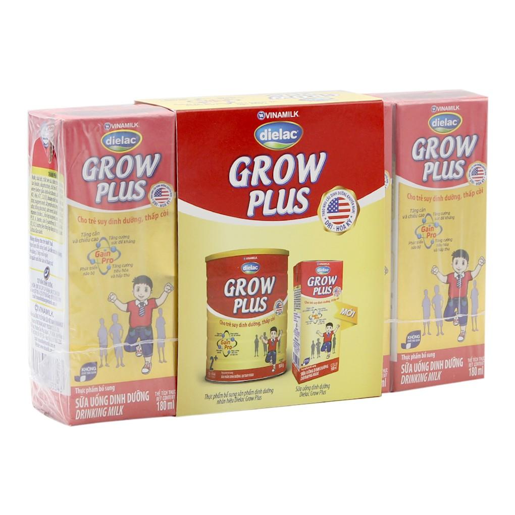 Sữa bột pha sẵn Dielac Grow Plus 180ml (4 hộp) - 3461707 , 827982265 , 322_827982265 , 34000 , Sua-bot-pha-san-Dielac-Grow-Plus-180ml-4-hop-322_827982265 , shopee.vn , Sữa bột pha sẵn Dielac Grow Plus 180ml (4 hộp)