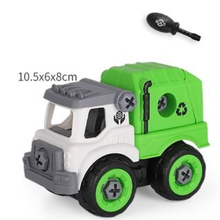 Xe đồ chơi mô hình ô tô tháo lắp dễ dàng hiệu Híp s Toys MODEL 996D bằng nhựa 5
