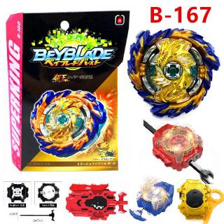 New Beyblade Burst B-167 Sparking SuperKing Booster Mirage Fafnir Nt 2S New With Box