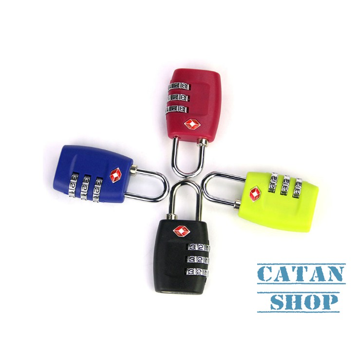 Khóa số mini có ổ khóa TSA thích hợp cho vali, túi xách, balo, tủ cá nhân….an toàn, tiện lợi, nhỏ gọ