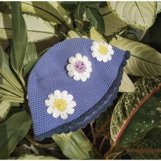 Mũ len hoa 🌼🌼 vành Korea [crochet] xinh cho bé 🧵