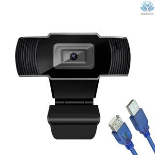 Webcam 1080p Hd Góc Rộng 30fps Kèm Dây Cáp 1.5m