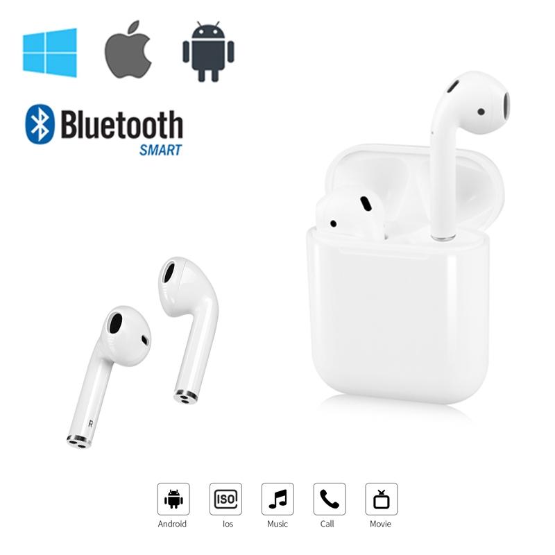Tai nghe bluetooth mini i12 TWS bluetooth 5.0 cao cấp dành cho Android IOS
