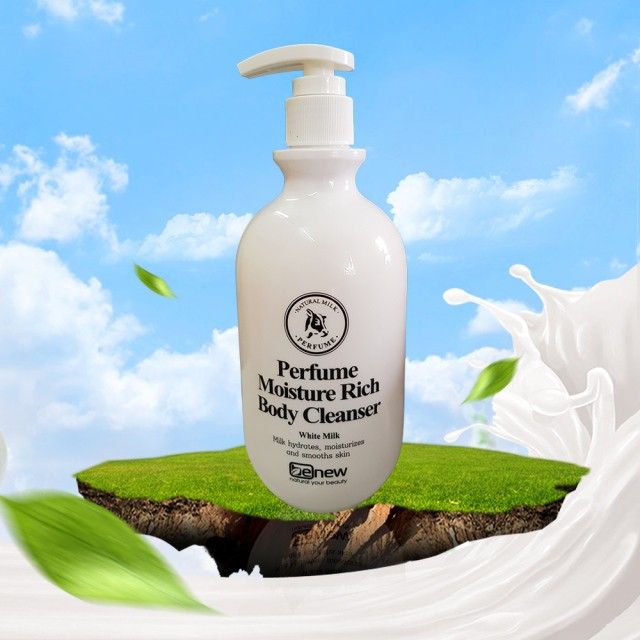 Sữa tắm nước hoa trắng da Perfume Moisture Rich Body Cleanser White Milk 450ml - 2941738 , 1267460425 , 322_1267460425 , 210000 , Sua-tam-nuoc-hoa-trang-da-Perfume-Moisture-Rich-Body-Cleanser-White-Milk-450ml-322_1267460425 , shopee.vn , Sữa tắm nước hoa trắng da Perfume Moisture Rich Body Cleanser White Milk 450ml