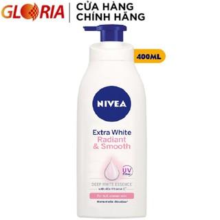 Sữa Dưỡng Thể Dưỡng Da Trắng Mịn Nivea 400ml - 83807