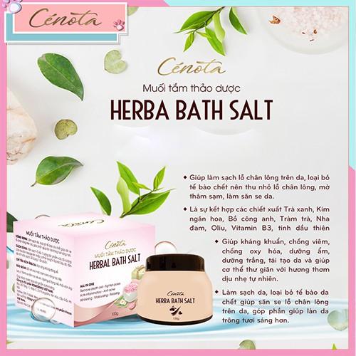 Muối tắm thảo dược tự nhiên, muối tắm làm sạch lỗ chân lông - C02 cece