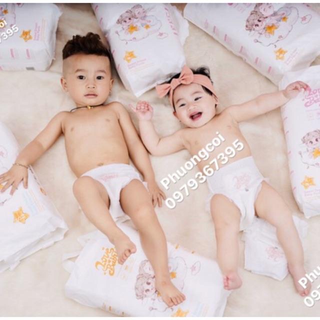 Tã bỉm Hữu cơ Love Baby dán quần Nb36/S dán 50/M dán quần 46/ L quần 42/ XL 38