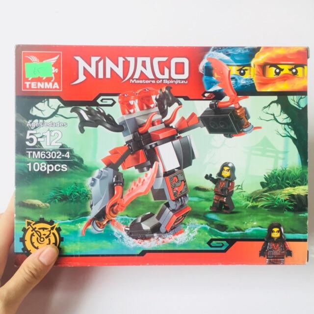 Bộ LEGO Xếp Hình Ninjago TM 6302-4 Gồm 108 Chi Tiết. Lego Ninjago Lắp Ráp Đồ Chơi Cho Bé - 3145676 , 1264179672 , 322_1264179672 , 65000 , Bo-LEGO-Xep-Hinh-Ninjago-TM-6302-4-Gom-108-Chi-Tiet.-Lego-Ninjago-Lap-Rap-Do-Choi-Cho-Be-322_1264179672 , shopee.vn , Bộ LEGO Xếp Hình Ninjago TM 6302-4 Gồm 108 Chi Tiết. Lego Ninjago Lắp Ráp Đồ Chơi Ch