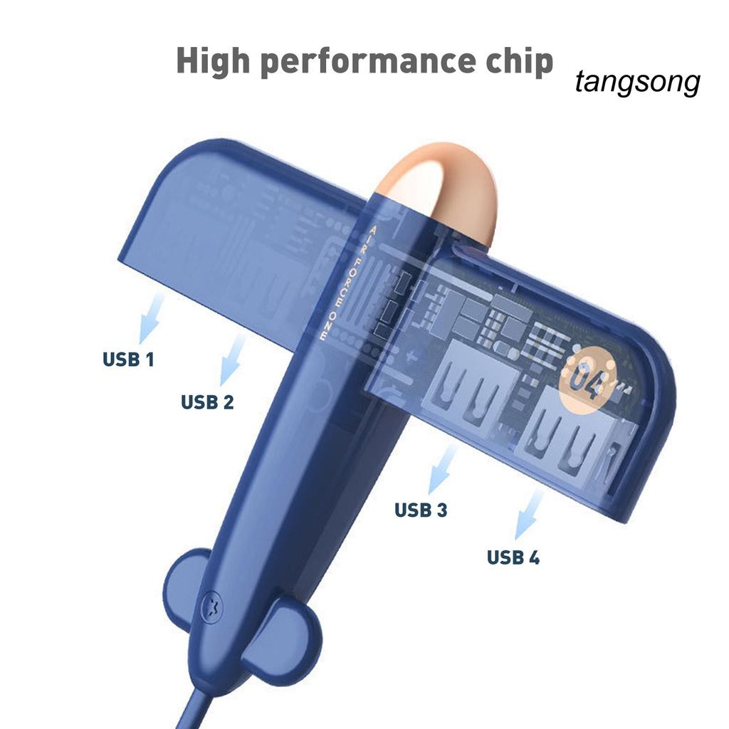 Đầu Chia 4 Cổng Usb 2.0 Cho Máy Tính