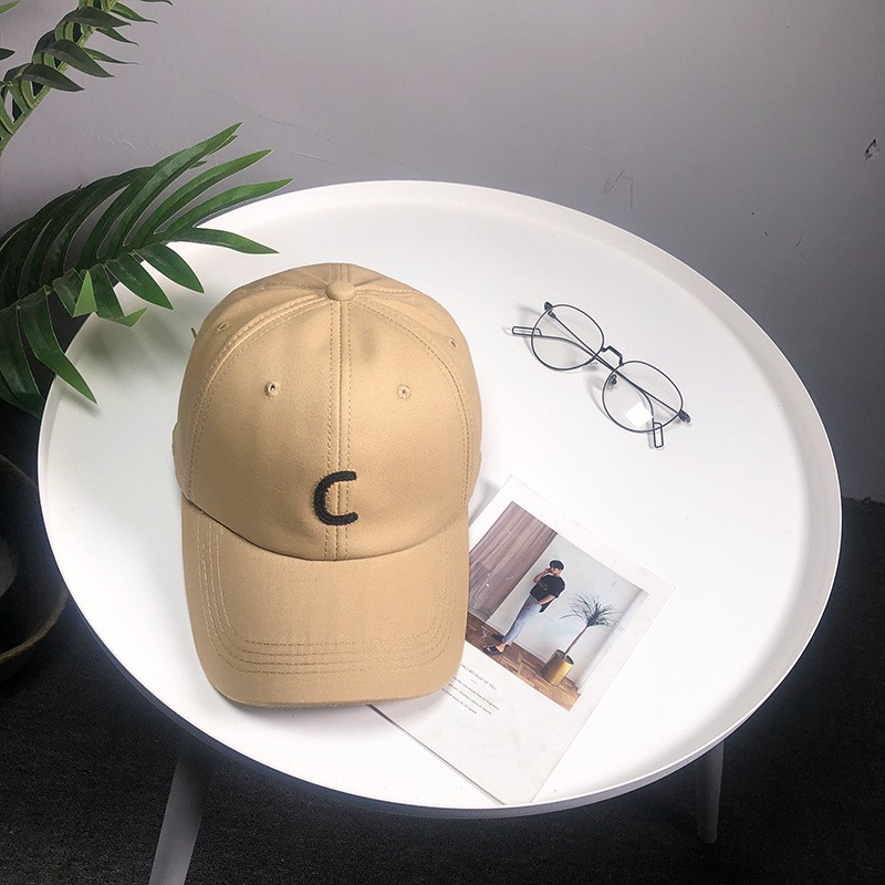 Baseball cap embroidered letter casual simple stylish duck female cap