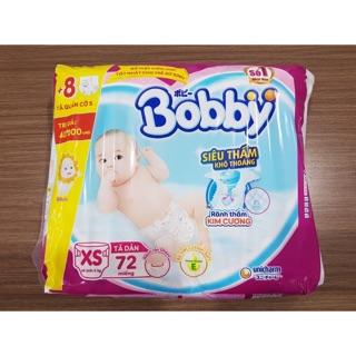 [TẶNG THÊM MIẾNG]Tả dán Bobby size XS72
