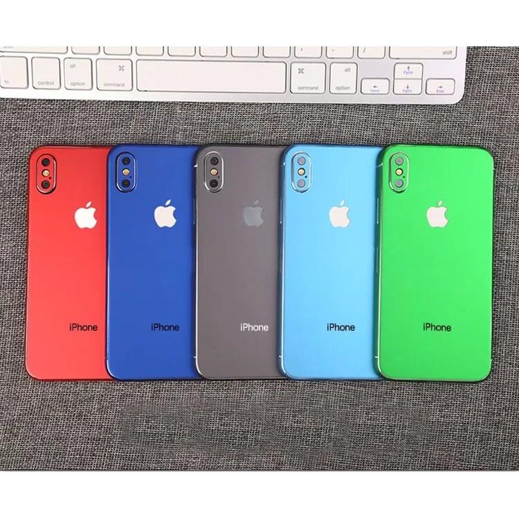 miếng dán skin cho iphone X