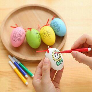 #đồ chơi trứng tô màu