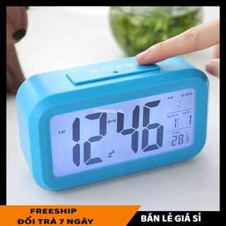 Đồng hồ Alarm SALE ️ Đồng hồ báo thức hình Led,  hiện thị cả nhiệt độ phòng, ngày tháng 4255