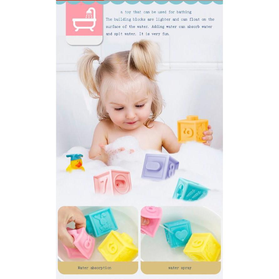 Bộ đồ chơi cho bé Nhật Bản BDC1610 Fun Soft 10 chi tiết (Đạt chuẩn an toàn bé) – Home and Garden
