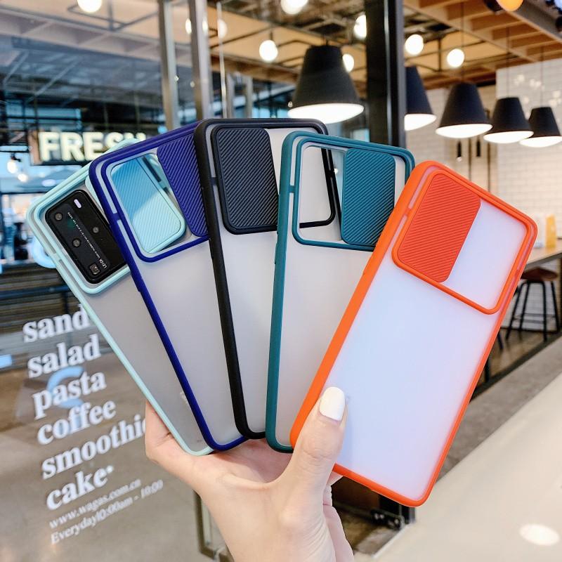 Ốp điện thoại nhựa cứng thời trang bảo vệ ống kính máy ảnh cho Oppo Reno 4 4F 4g 2f 2z reno4 Lite
