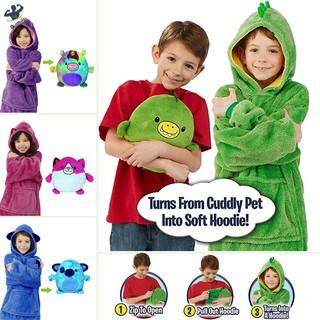 LL Children Kids Outdoor Hoodie Hooded Warm Sweatshirt Long Sleeve Soft for Winter @VN