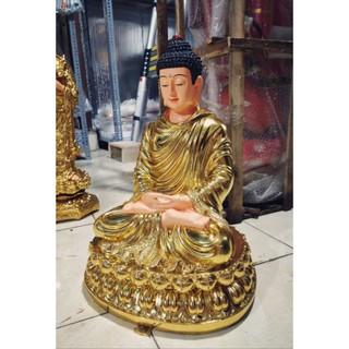 Tượng Bổn Sư 50cm dát vàng