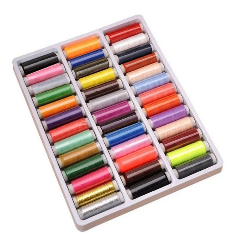 ♥superH♥39-color 402 Fine Sewing Thread For Hand Sewing Industrial Machine High Quality