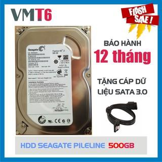 Ổ cứng HDD Seagate 500GB - Bảo hành 12 tháng !