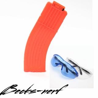 Băng 15 que cho dòng Nerf và kính bảo vệ