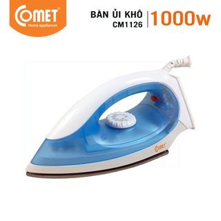 [Mã ELCOMET01 giảm 8% đơn 250K] Bàn ủi khô COMET – CM1126