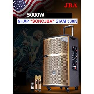"""[ NHẬP """"SONCJBA"""" GIẢM 300K ]Loa Kéo Di Động JBA-A09 Bass 4 Tấc + 2 Micro"""