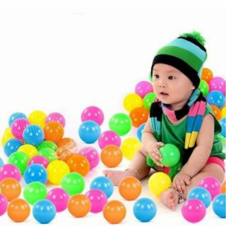 Combo 50 trái bóng nhựa cho bé