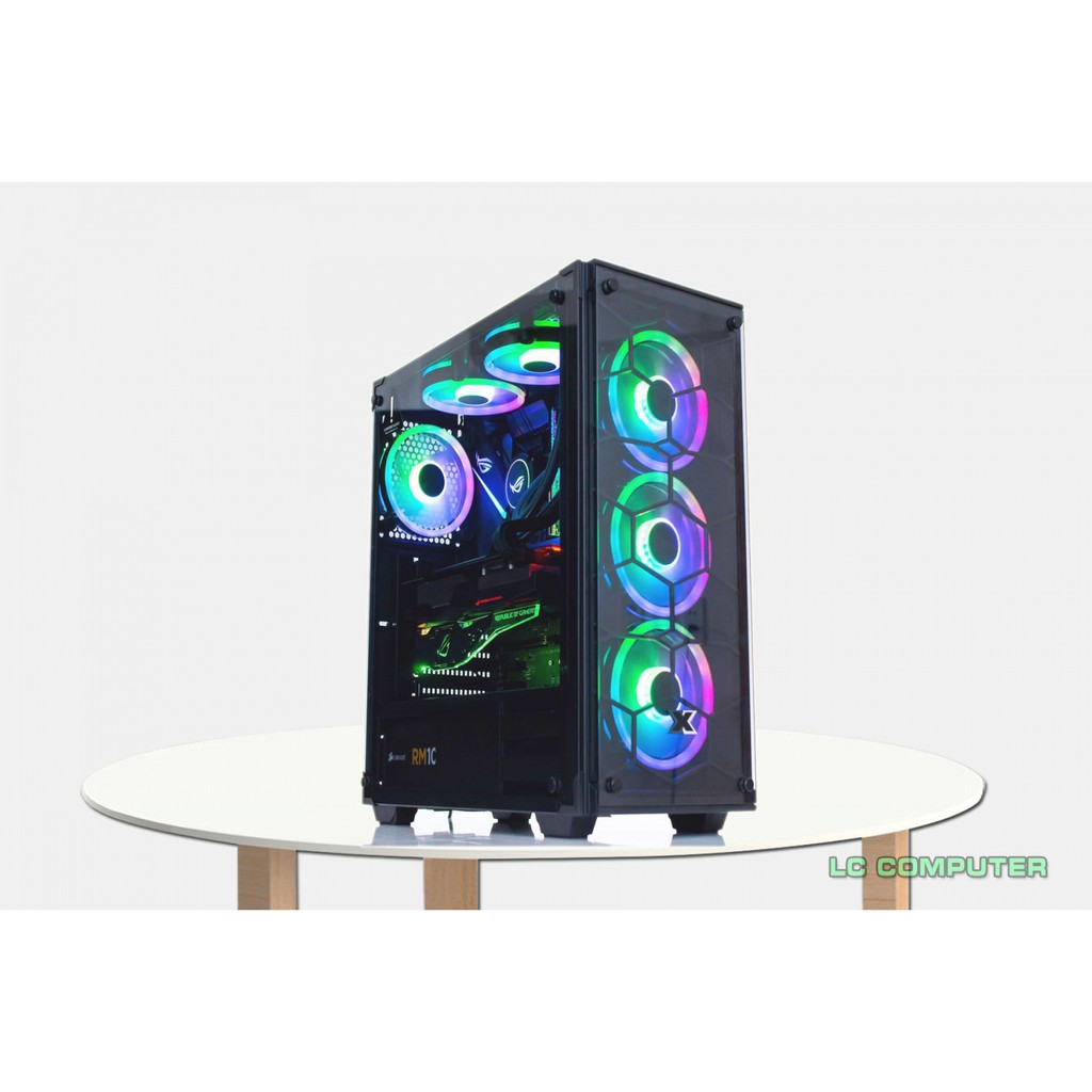 Case chiến PUBG stream B360/i3-9100/Ram 8G DDR4/Vga RX470 4GB/SSD 128GB chính hãng