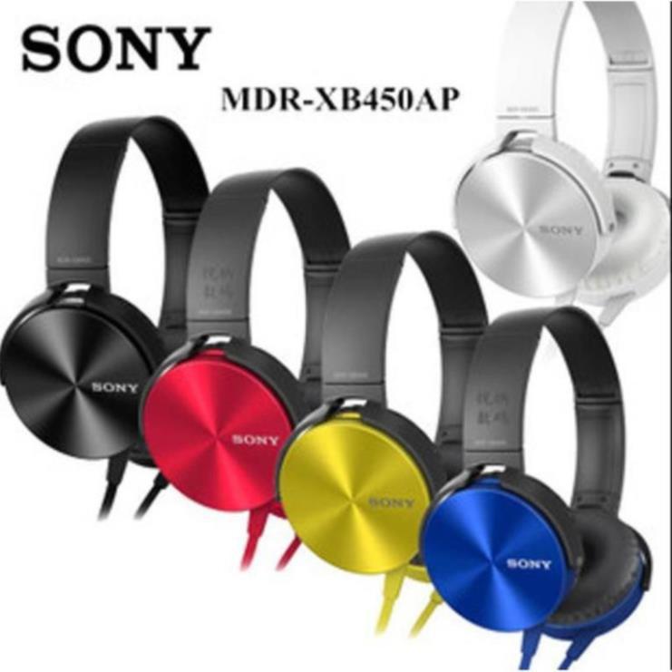 Tai Nghe Chụp Tai Có Mic ️NGHE CỰC THÍCH️ Tai Nghe Sony Extra Bass 450AP