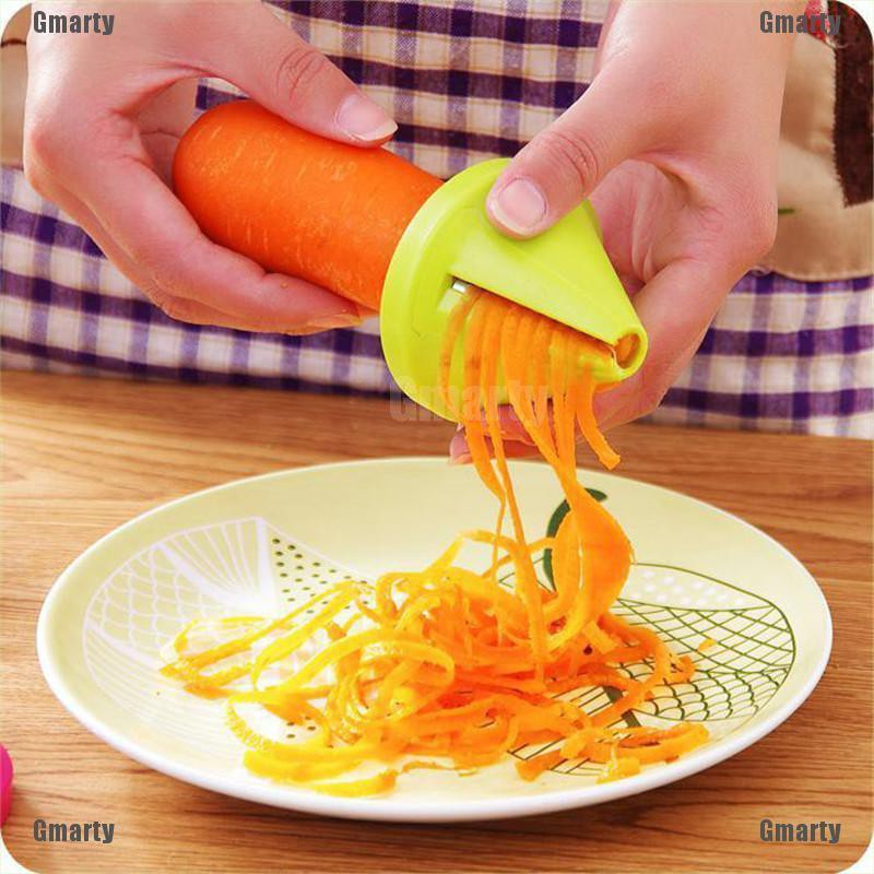 Gmarty kitchen multifunction device shredded spiral rotary peeler shred device vegetable cutters