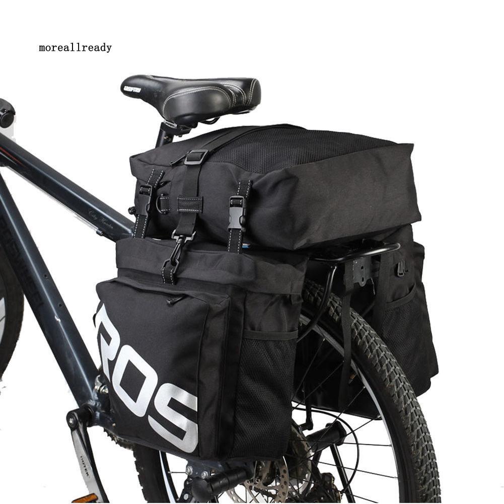 was_3-in-1 Roswheel Bicycle Rear Seat Waterproof Bike Cycling Travel Luggage Bag
