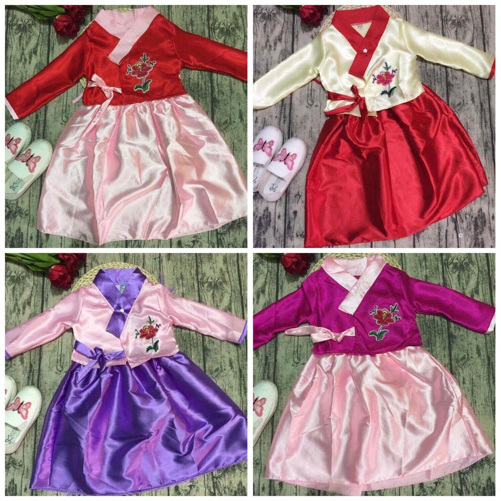 Váy hanbok cho bé gái