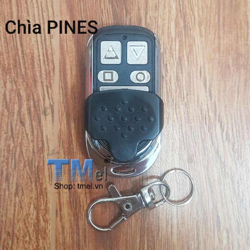 Remote dành cho cửa cuốn hãng PINES tần số 433Mhz