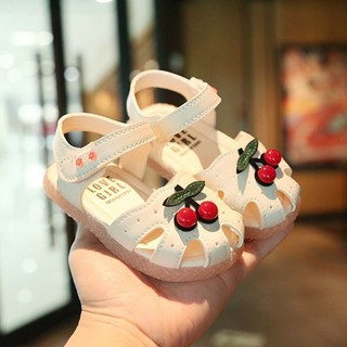 giày cherry tập đi cho bé gái Ankids502