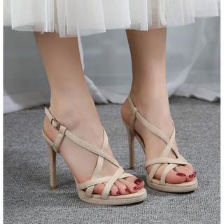 Dép cao gót sandal cao 10cm