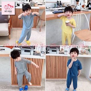 Đồ bộ cho bé trai bé gái trẻ em mặc nhà alibaba [Mẫu hot] quần áo trẻ em bộ đồ ngủ alibaba pijama mùa hè cho bé trai gái