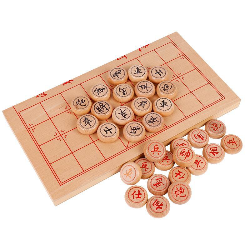 bộ bàn cờ vua bằng gỗ