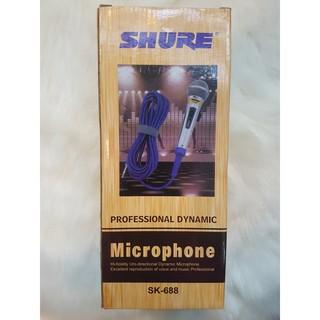 Micro Hát Karaoke Shure SK-688