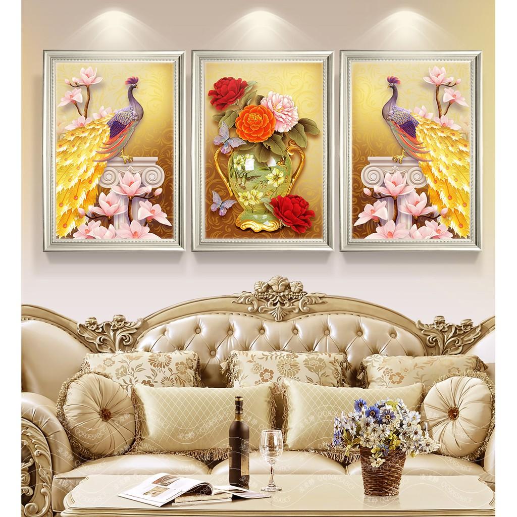VNLOVE303.3 - Bộ 3 Tấm Tranh Công FORMEX Hoa Mẫu Đơn treo tường trang trí phòng khách ngủ bếp ăn cầu thang đẹp nhà cửa - 22029172 , 7505225347 , 322_7505225347 , 589000 , VNLOVE303.3-Bo-3-Tam-Tranh-Cong-FORMEX-Hoa-Mau-Don-treo-tuong-trang-tri-phong-khach-ngu-bep-an-cau-thang-dep-nha-cua-322_7505225347 , shopee.vn , VNLOVE303.3 - Bộ 3 Tấm Tranh Công FORMEX Hoa Mẫu Đơn t