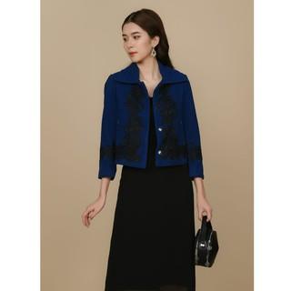 [Mã WABR44H giảm 15% đơn 599K] Áo vest xanh ren thiết kế Elise thumbnail