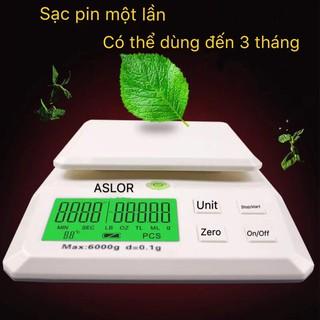 Cân điện tử nhà bếp Aslor 6kg ( Bảo Hành 12 Tháng )