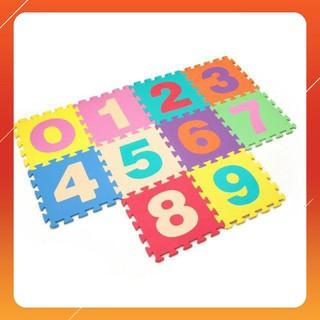 """MAU MOI """" Combo 10 miếng thảm xốp đồ chơi cho bé yêu dễ dàng lắp ráp theo sự sáng tạo MỚI HOT"""