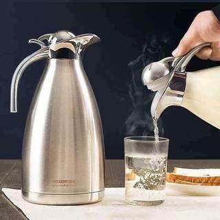 Bình Giữ Nhiệt Mỏ Vịt Nóng Lạnh Ruột Inox 304 Cao Cấp 2L - Bình phà trà cà phê tại nhà dung tích lớn có quai cầm